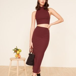 NWOT Reformation Knox Two Piece